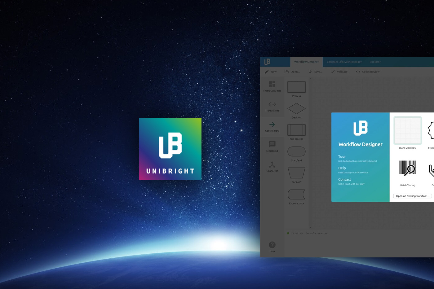unibright-ico-a-unified-framework-for-blockchain-based-business-integration[1]